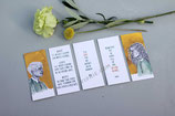 "5 Book Marks ""Yearning For You"""