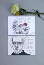 """Set of 2 Prints """"Future Vs. Dreams"""""""