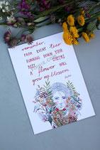 "Print ""Grow And Blossom"""