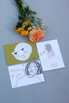 "Set of 3 Postcards ""For Someone Special"""