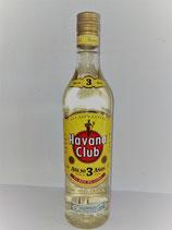 Havana Club 3 Jahre Rum 0,7 l