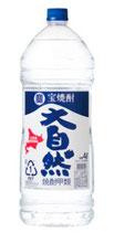 宝酒造 宝焼酎 大自然 20度 4L