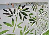 Celosía PVC Espumado Blanco 15 mm (Precio por metro cuadro)