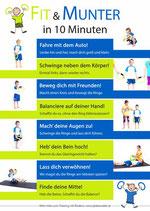 """Plakat """"Kids"""" Kindergarten DIN A3 laminiert"""