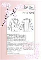 Patron veste Julia