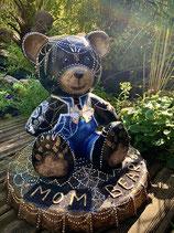 MOM BEAR (ours 40 cm résine sur capsule)