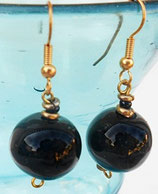 Boucles Kazuri Black Mop