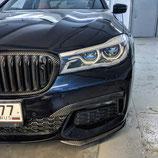 Клыки переднего бампера BMW 7 g11 g12