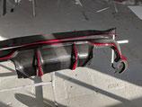 Карбоновый диффузор 3D design BMW X6M F86