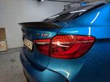 Карбоновый спойлер крышки багажника 3D design BMW X6M F86