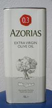 5 Liter Azorias Olivenöl