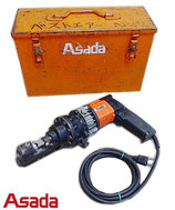 アサダ 油圧式 全ネジカッター BC-13 ② / 100V ねじ切り