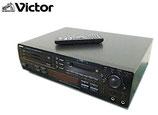 ビクター MD-CD コンビネーションデッキ XU-D400MKⅡ リモコン付き / 3CDチェンジャー MDデッキ CDプレーヤー