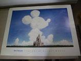 Disney ミッキー akira yokoyama アートポスター 絵 ディズニー