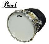 PEARL BRASS SHELL 14×6.5インチ パール ブラスシェル スネアドラム ソフトケース付き / EVANS GENERA HDD