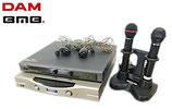 BMB 赤外線ワイヤレスマイク・レシーバー WM-600  WT-5000MKⅡ MH-500、第一興商 DAM パワーアンプ DAM-A100 / カラオケ機器