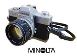 ミノルタ Minolta SRT101 MC ROKKOR - PF 58mm 1:1.4