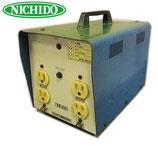 日動工業 トラパック SF-E100DS  ダウントランス 100V→24V / 降圧器 脚1箇所欠品