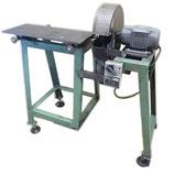 定 スライドテーブル付き高速切断機 / 高速カッター 鉄工  自作?