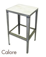 美品 calore カロレ スツール アーバンナチュラル / ハイチェア サイドテーブル