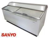 サンヨー アイスクリームケース SCR-1813 04年/冷凍ショーケース