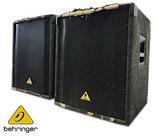 BEHRINGER ベリンガー PAサブウーファー EUROLIVE B1800X  2台セット 現状品