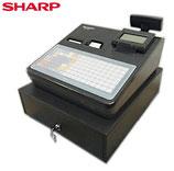 シャープ 電子レジスター XE-A417-B  20部門 フラットキーボード