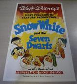 Disney 7人の小人 ポスター 絵 ディズニー復刻版