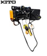 KITO キトー ロープホイスト RKL6010DL06 1.0t×6m / 1ton電動ウインチ  巻上下2速 南北電動トロリ