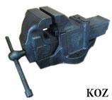 KOZ コーツ 万力 158 / リードバイス 角胴型バイス 工具 作業台