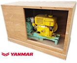 ジャンク品 ディーゼルエンジンポンプ / ヤンマー 発動機 NS40C