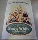 Disney 白雪姫 7人の小人 ポスター 絵 ディズニー復刻版