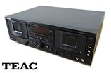 TEAC ティアック ダブルカセットデッキ W-6000R