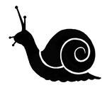 Lavinia Stamps - Snail Miniature