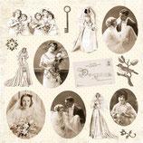 "My Wedding 8 - Paper 12"" x 12"""