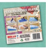 """GELLI ARTS - Gel Printing Plate 6"""" x 6"""""""