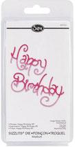 "Sizzix Sizzlits Die ""Happy Birthday"" (SIZ655180)"