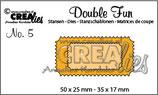 CREAlies Double Fun No. 5 Tickets