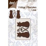 """Joy! Crafts Stanzschablone """"Katzenliebe"""""""