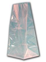 OPP-Blockbodenbeutel 55+35x180mm - Siegelnaht (20 Stück)