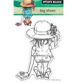 Transparent Stamp - Big shoes