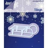 Joy! Crafts Stanz- & Prägeschablone Schlitten