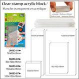 Acrylblock für Clearstamps