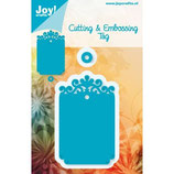 Joy! Crafts Cutting & Embossing Tag