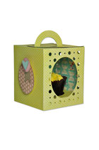 Sizzix Thinlits™ Plus Die Set - Box, Cupcake 660842 (für die Big Shot Plus)