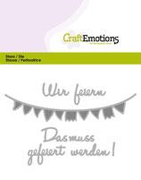 CraftEmotions Die - Wir feiern