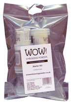 WOW! Embossing Pulver -Starter Kit- (6er Set)