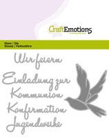 CraftEmotions Die - Wir feiern Kommunion...