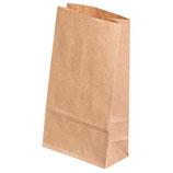 Papiertüten braun, Lebensmittelecht