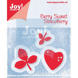 Joy! Crafts Stanz & Präge Schablone (3st) - Berry Sweet Strawberry